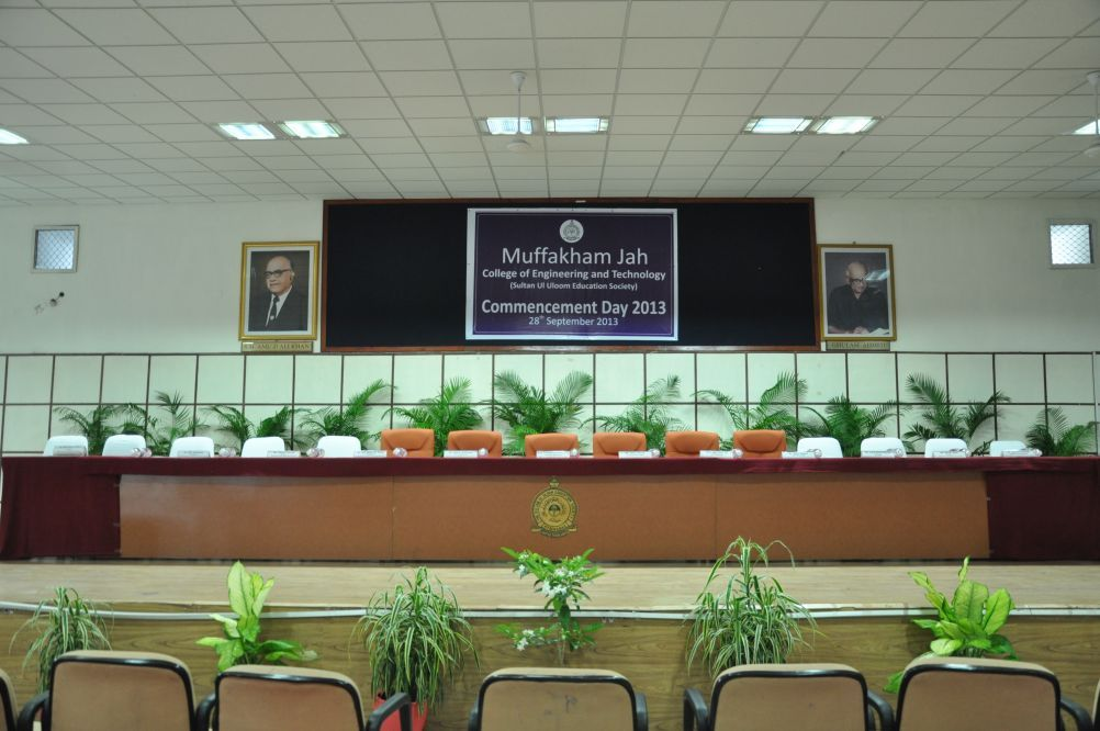 Gallery Muffakham Jah College Of Engineering And Technology