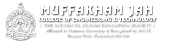 Muffakham Jah College of CHEMineering and Technology