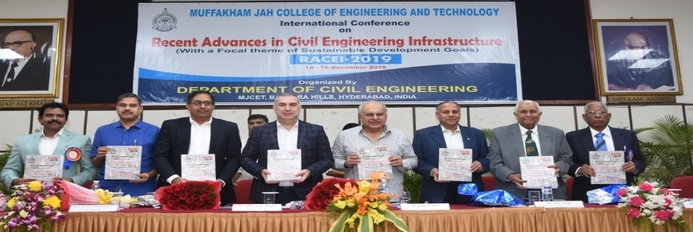 International Conference on Recent Advances in Civil Engineering Infrastructure - 2019