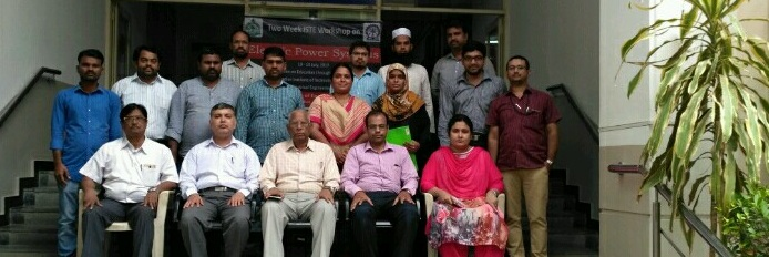Two Week ISTE STTP Workshop On Electric Power System